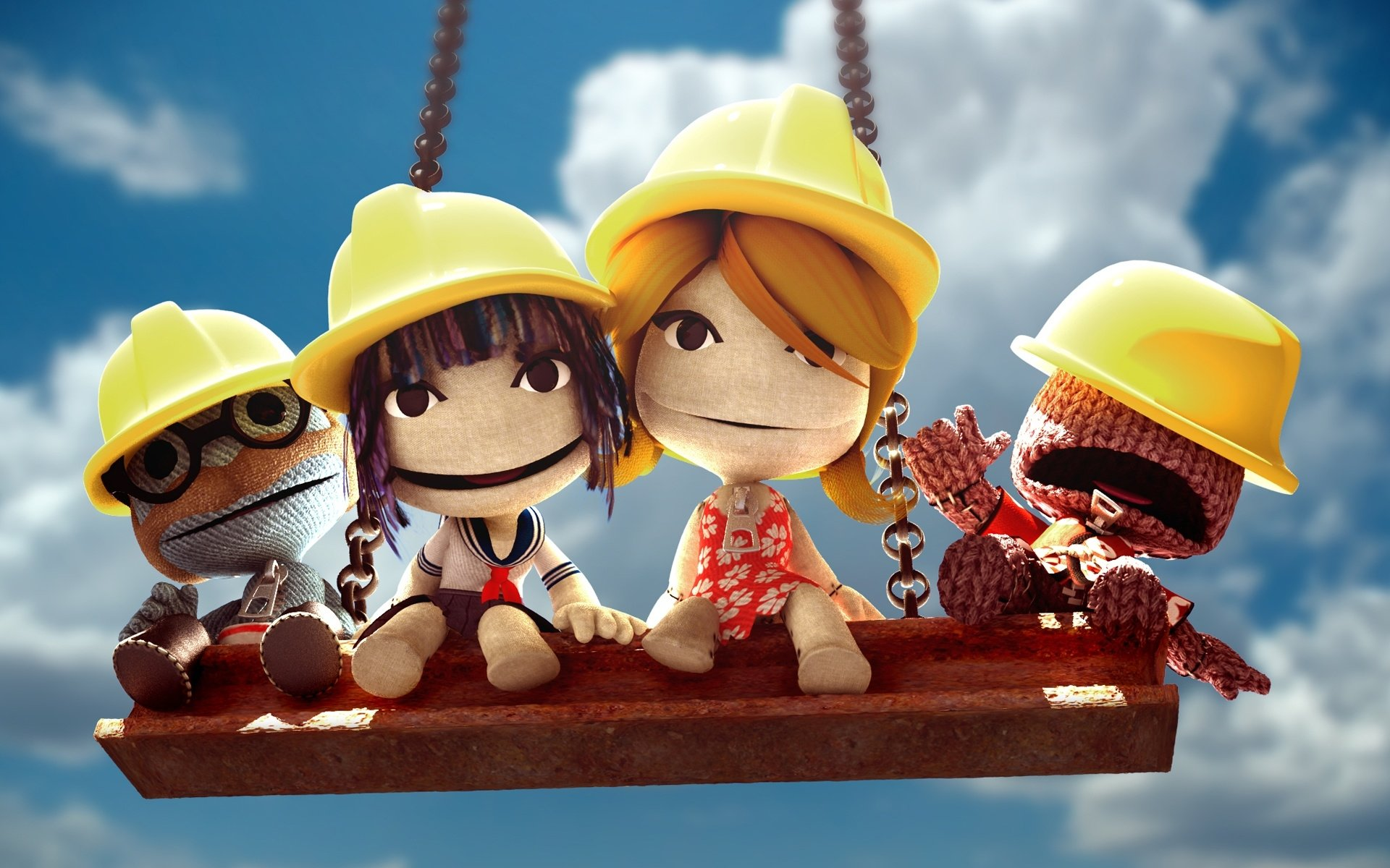 Download hd 1920x1200 LittleBigPlanet PC background ID:210487 for free