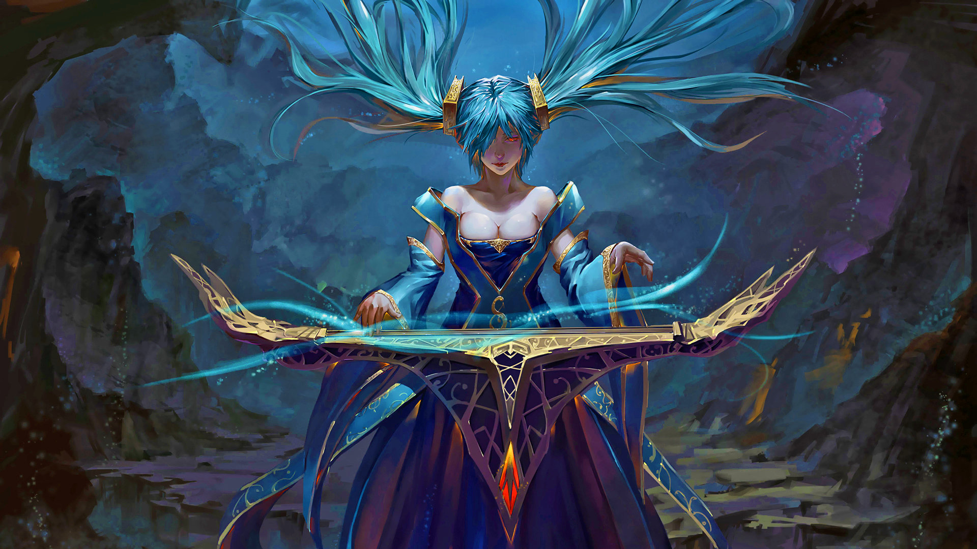 High resolution Sona (League Of Legends) full hd 1080p background ID:170896 for desktop