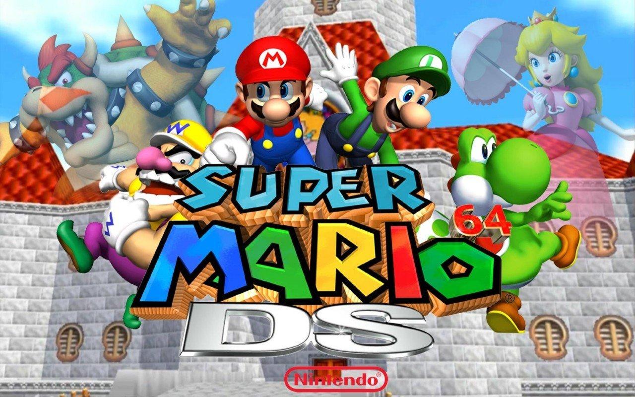 Super Mario Bros Wallpapers 1280x800 Desktop Backgrounds