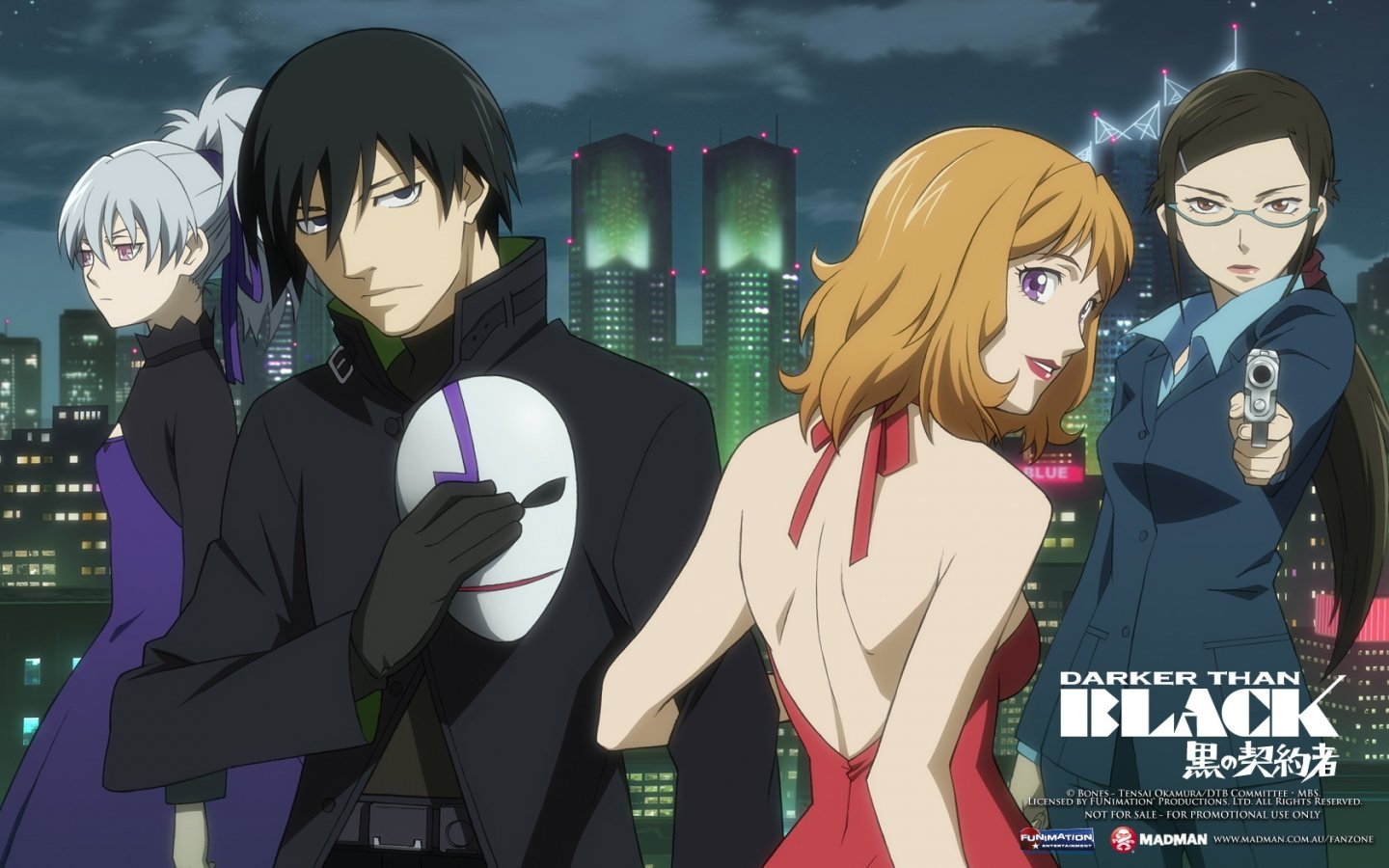 Free download Darker Than Black wallpaper ID:110205 hd 1440x900 for computer