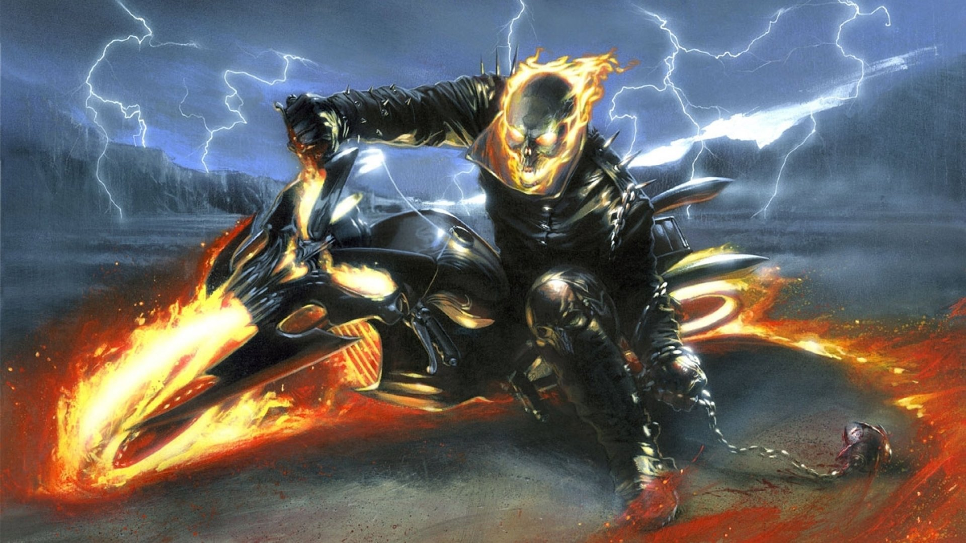 Awesome Ghost Rider free wallpaper ID:29442 for full hd 1080p computer