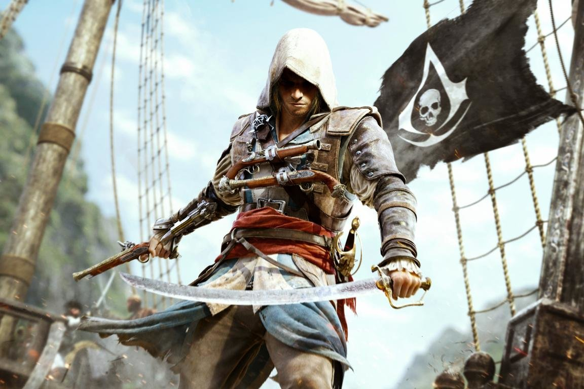 Download hd 1152x768 Assassin's Creed 4: Black Flag computer wallpaper ID:234537 for free