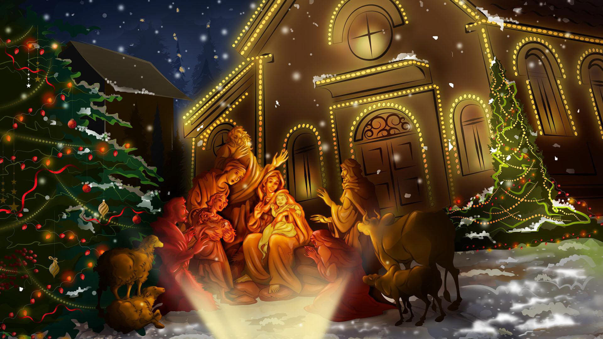 Free Download Christmas Background ID435717 Hd 1920x1080 For PC