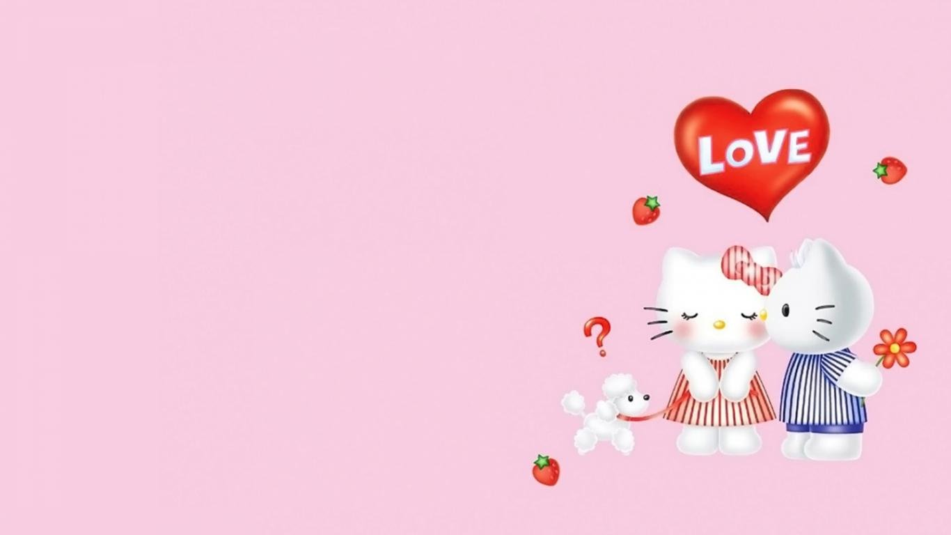Free Hello Kitty high quality background ID:93324 for laptop PC
