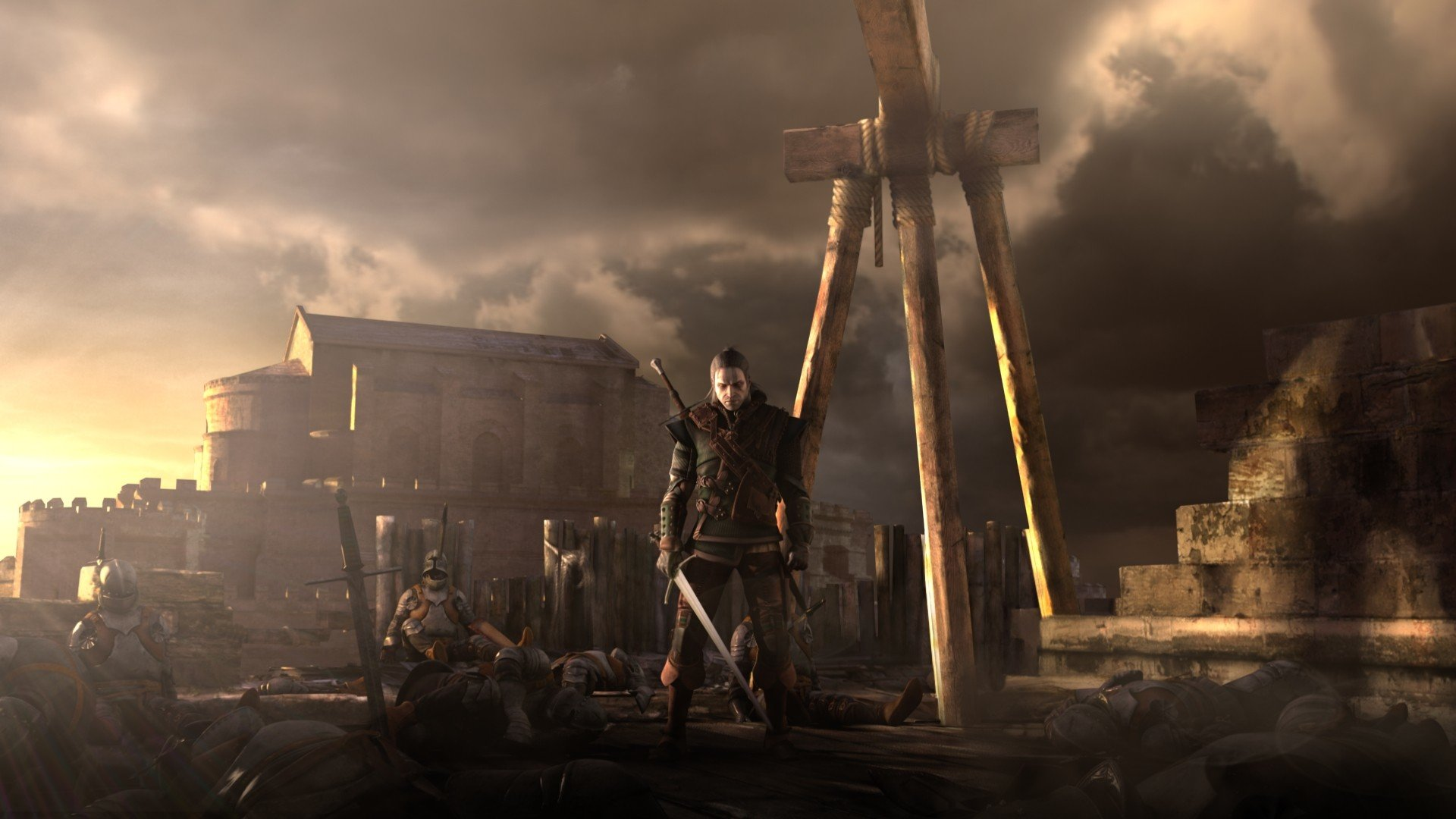 Free download The Witcher 2: Assassins Of Kings wallpaper ID:52428 full hd 1920x1080 for PC