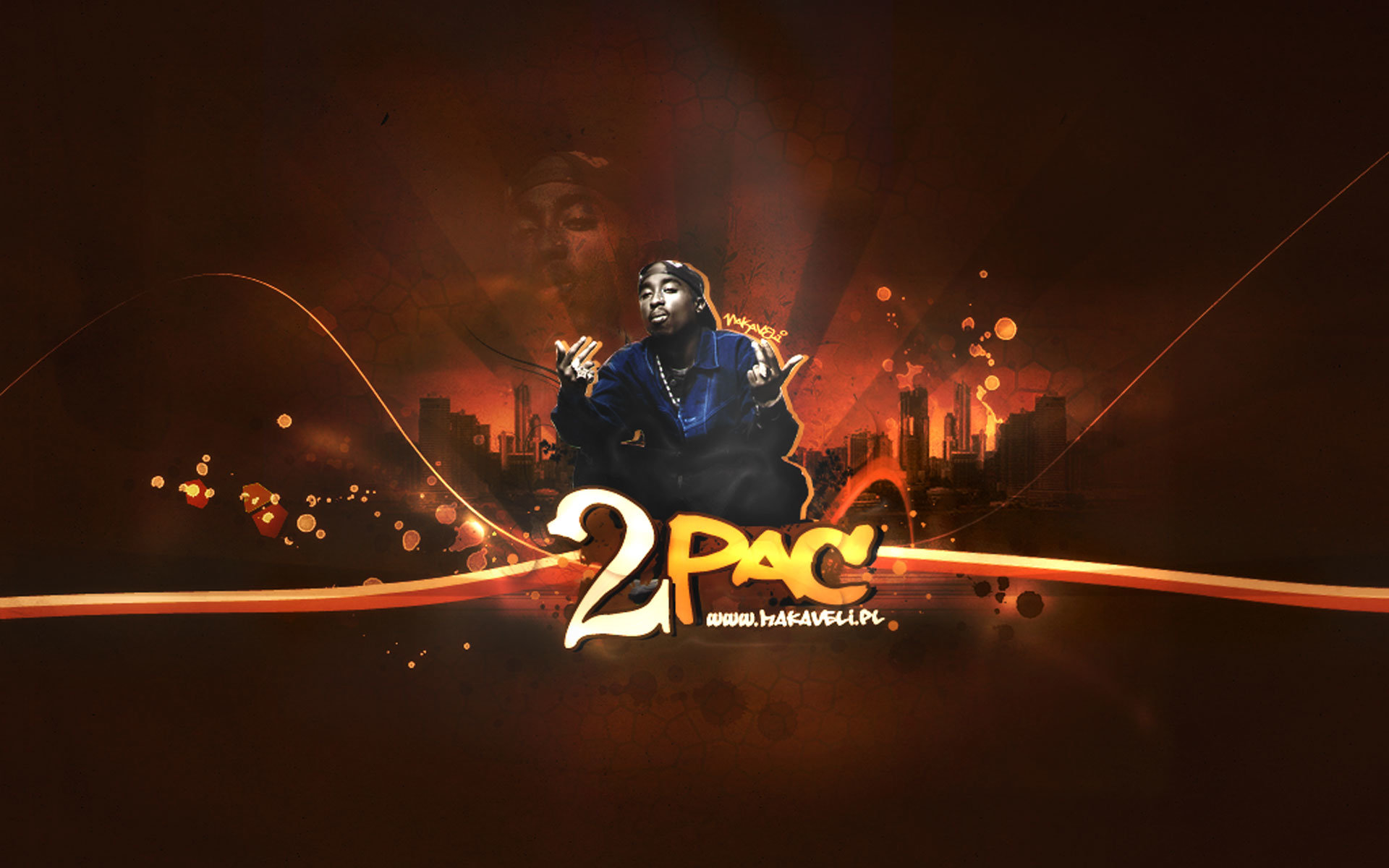 Download hd 1920x1200 2pac (tupac) desktop wallpaper ID:259124 for free