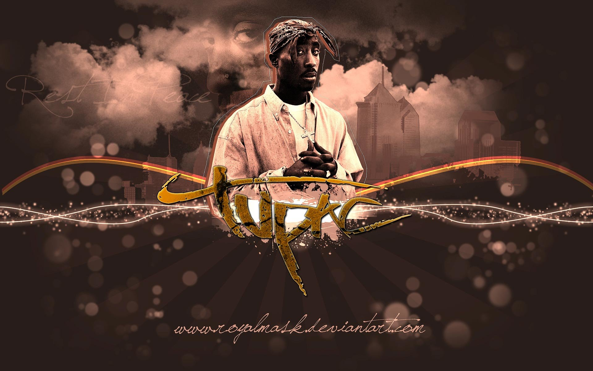 High resolution 2pac (tupac) hd 1920x1200 wallpaper ID:259147 for PC