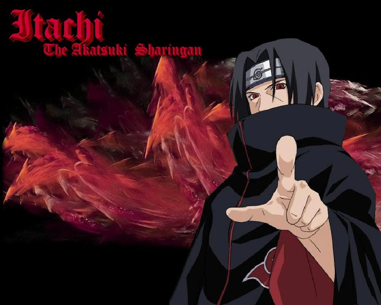 Free download Akatsuki (Naruto) background ID:395956 hd 1280x1024 for PC