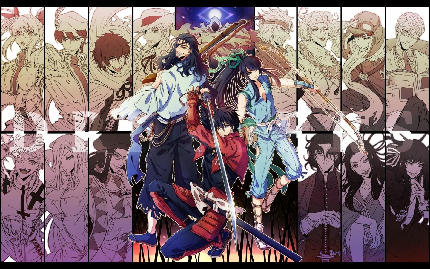 Free download Drifters wallpaper ID:149455 hd 1440x900 for desktop