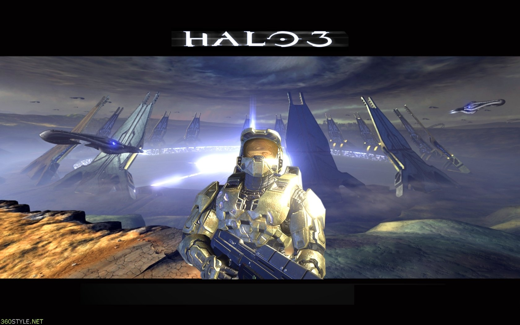 High resolution Halo 3 hd 1680x1050 background ID:74101 for PC