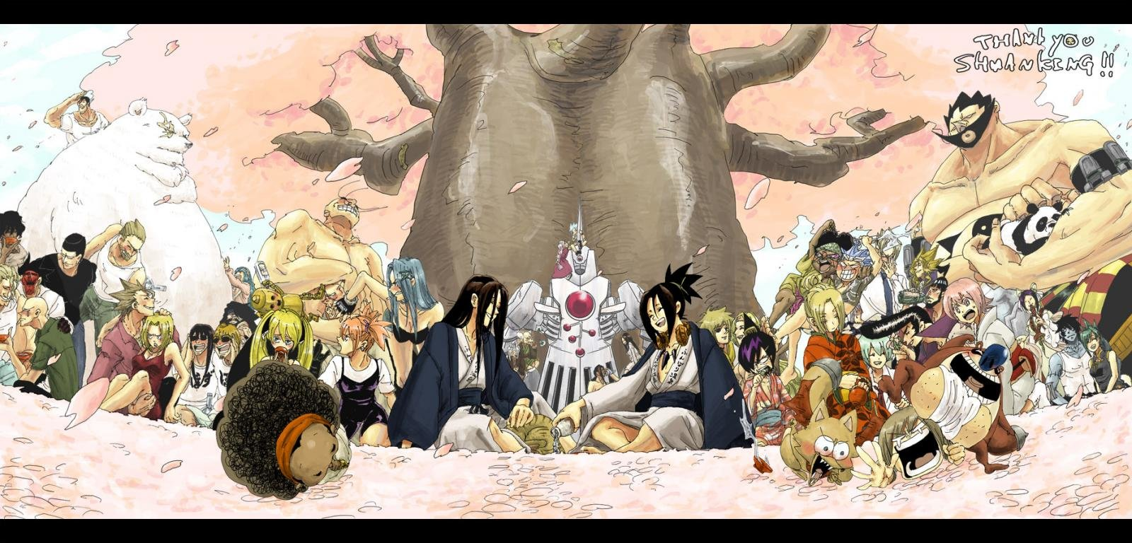 High resolution Shaman King hd 1600x768 background ID:52250 for desktop