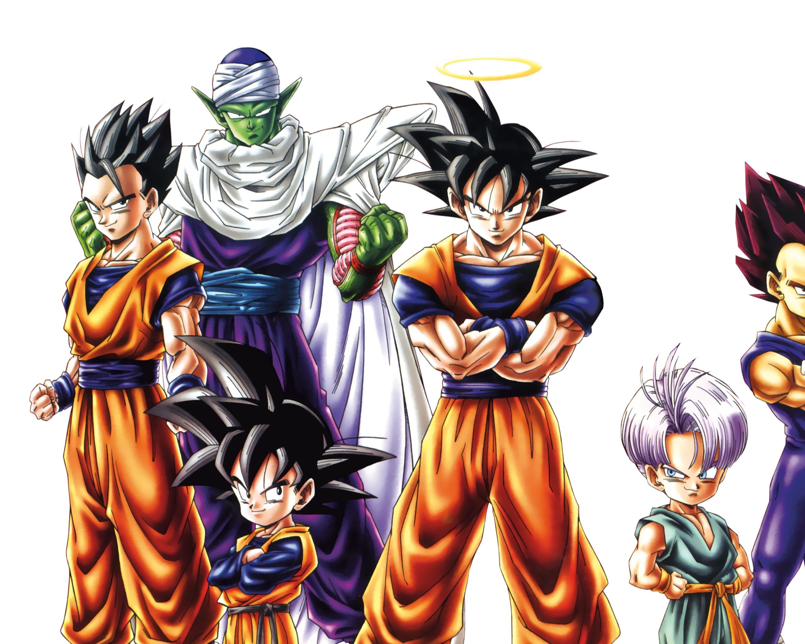 High Resolution Dragon Ball Z Dbz Hd 2560x2048 Wallpaper Id 461851