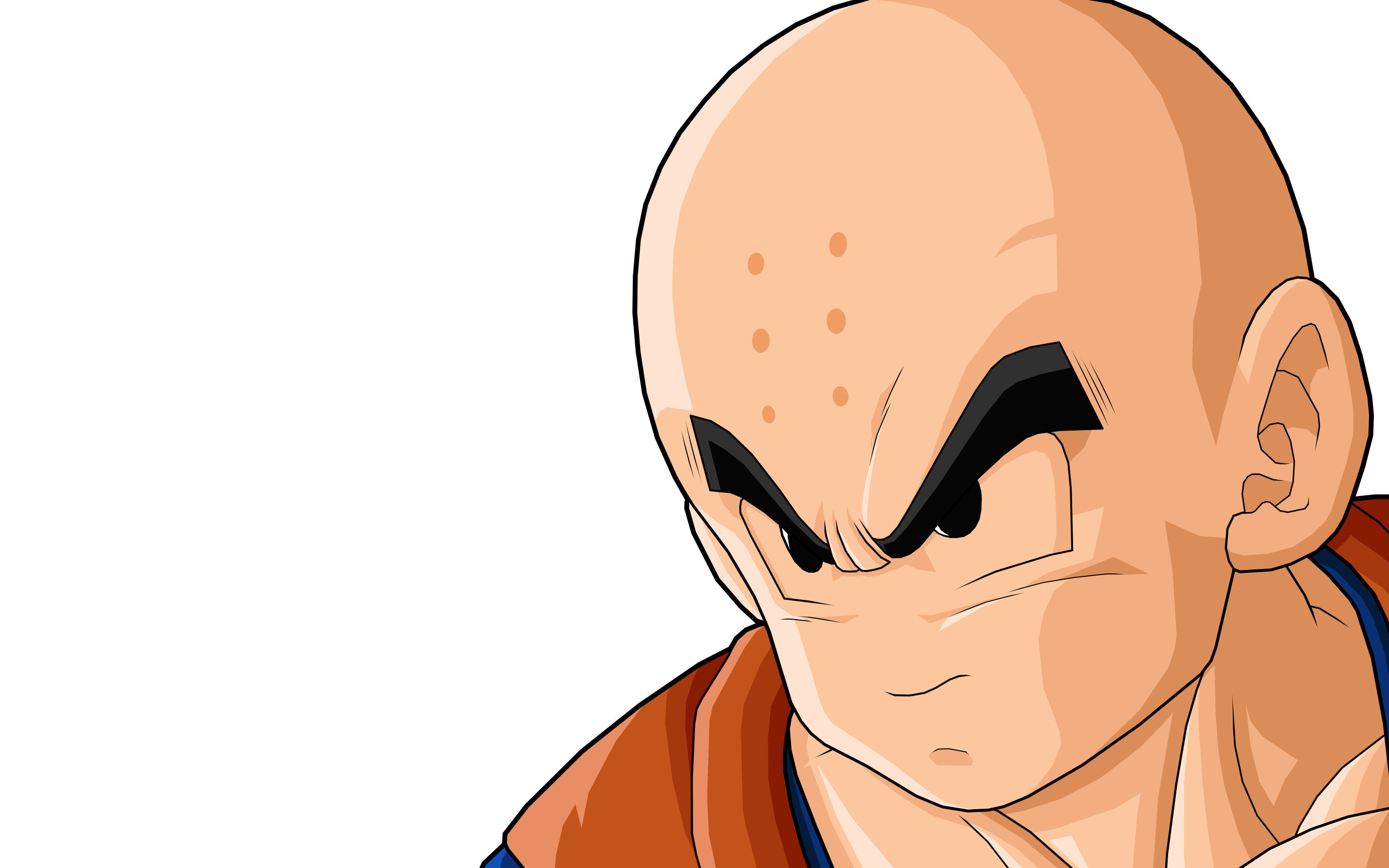 Awesome Krillin (Dragon Ball) free wallpaper ID:462160 for hd 2880x1800 PC