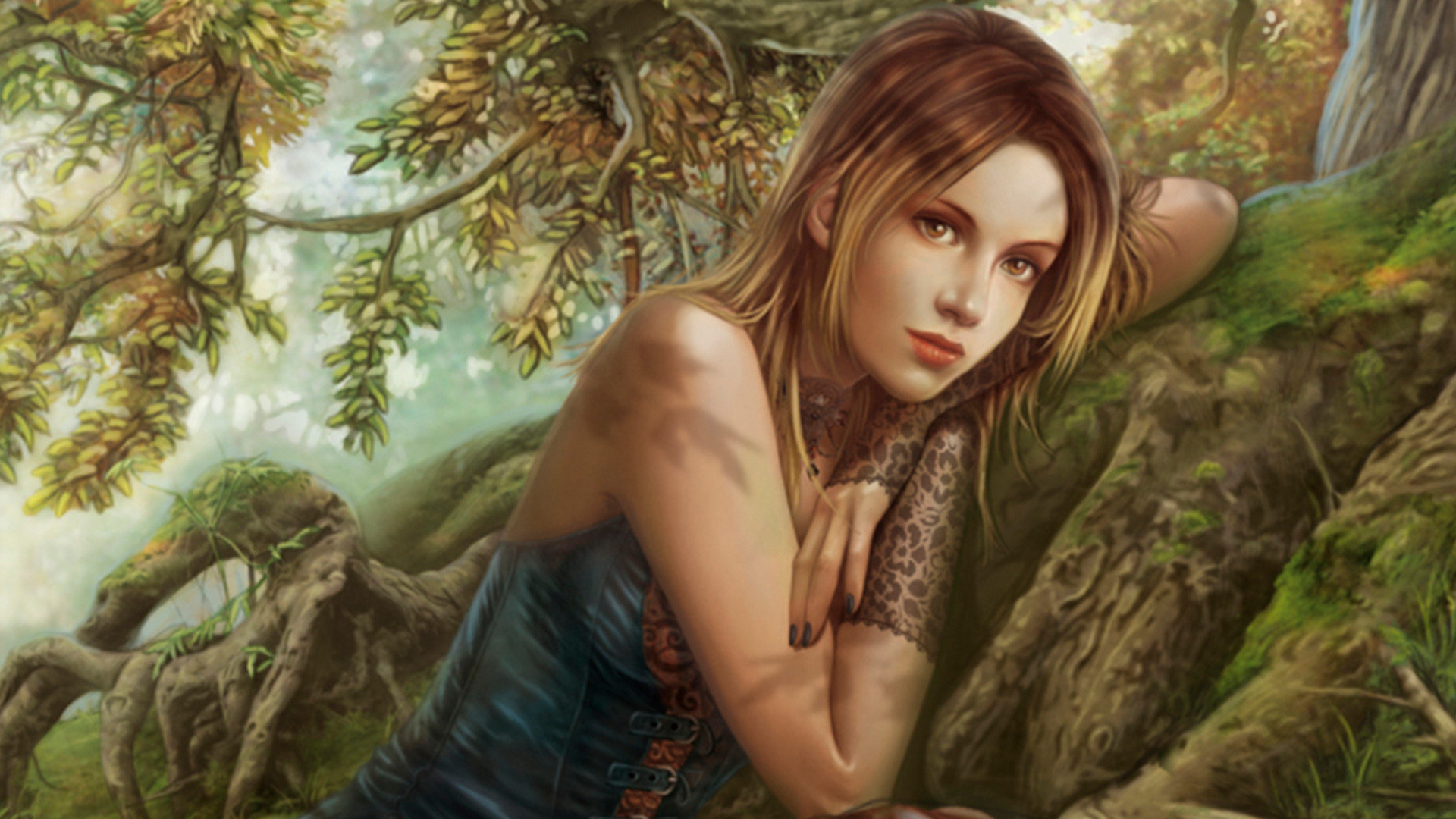 Free Fantasy Girl High Quality Wallpaper Id 335489 For Full
