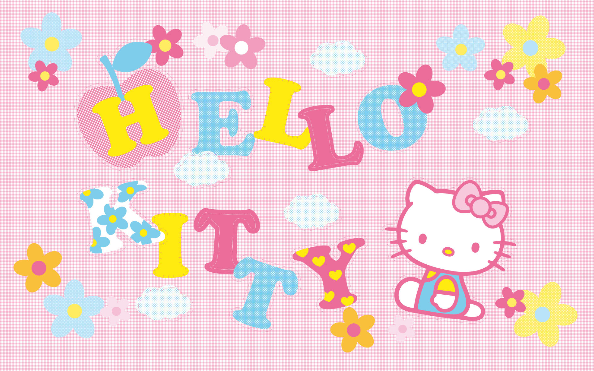 High resolution Hello Kitty hd 1920x1200 wallpaper ID:93321 for PC