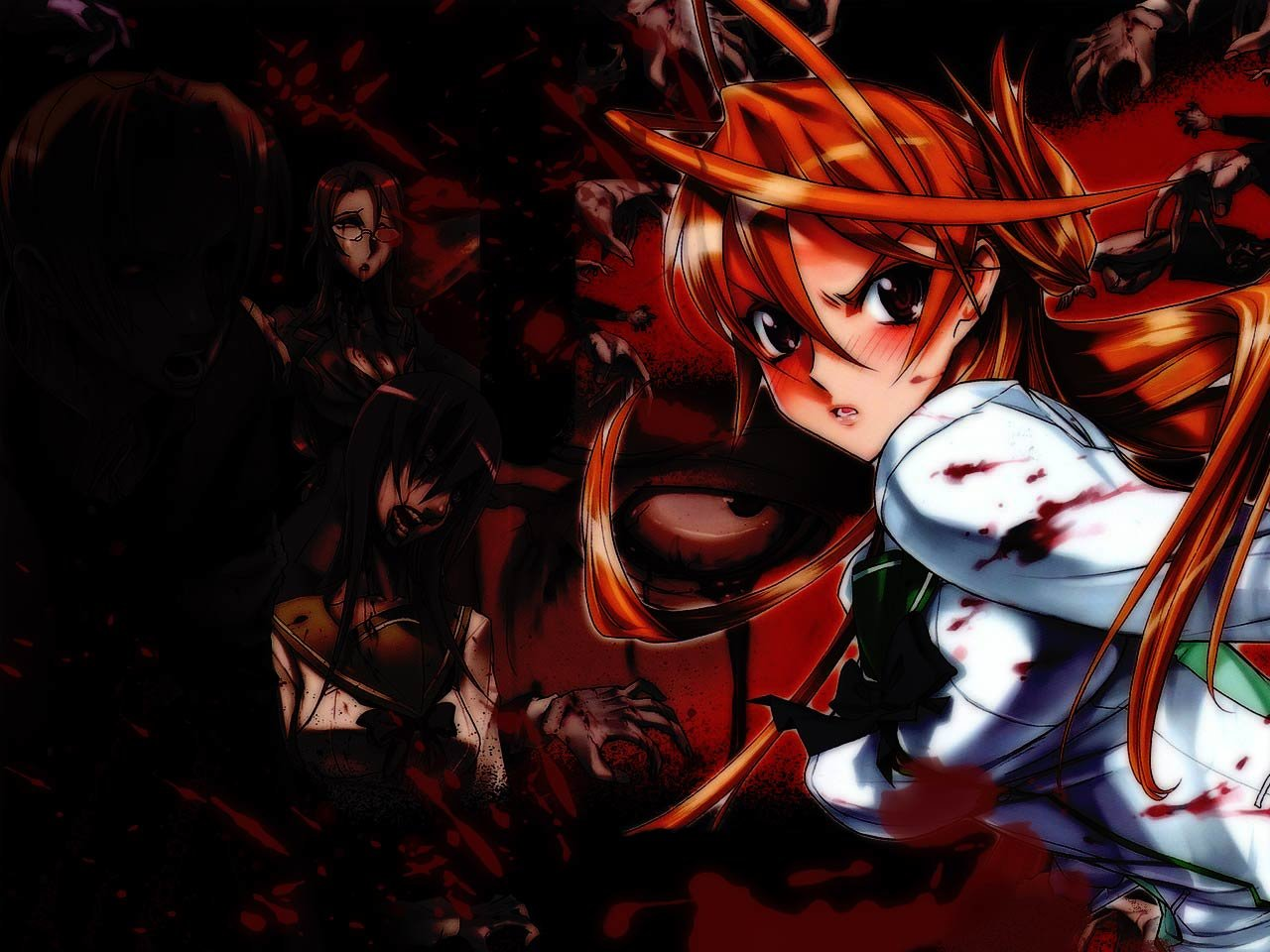 Download hd 1280x960 Highschool Of The Dead PC wallpaper ID:447761 for free