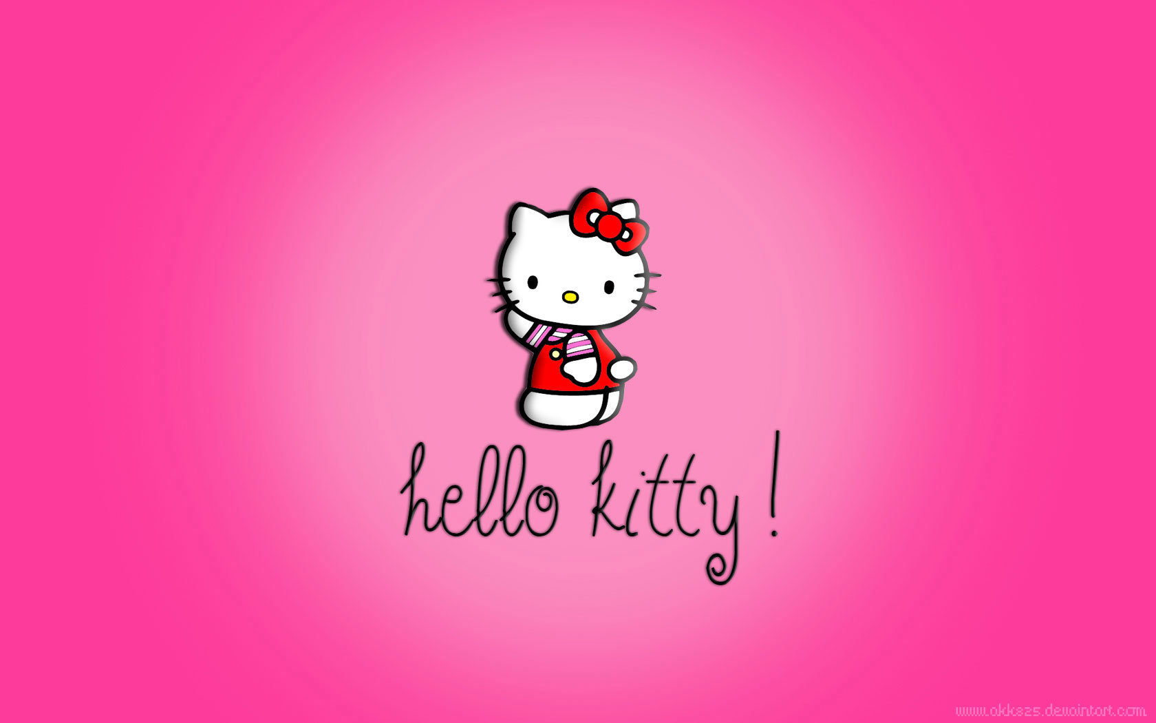 High resolution Hello Kitty hd 1680x1050 wallpaper ID:93322 for desktop