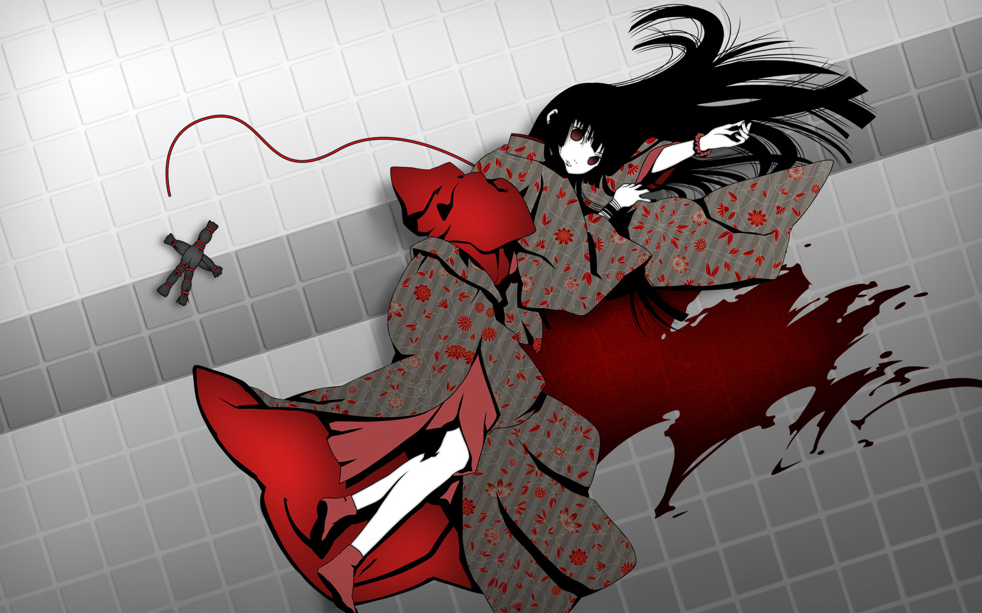 High resolution Jigoku Shojo hd 1920x1200 wallpaper ID:354001 for PC