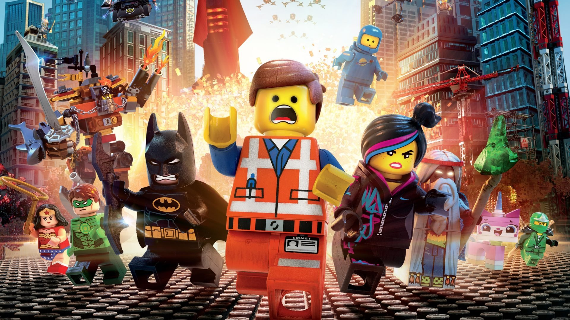 Free The Lego Movie high quality background ID:26424 for hd 1080p PC