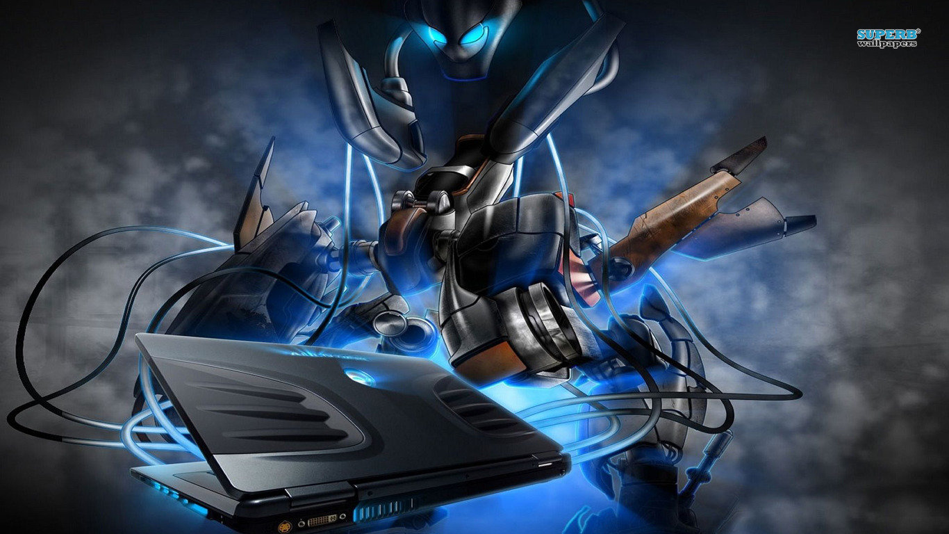 Free download Alienware wallpaper ID:385723 hd 1366x768 for desktop