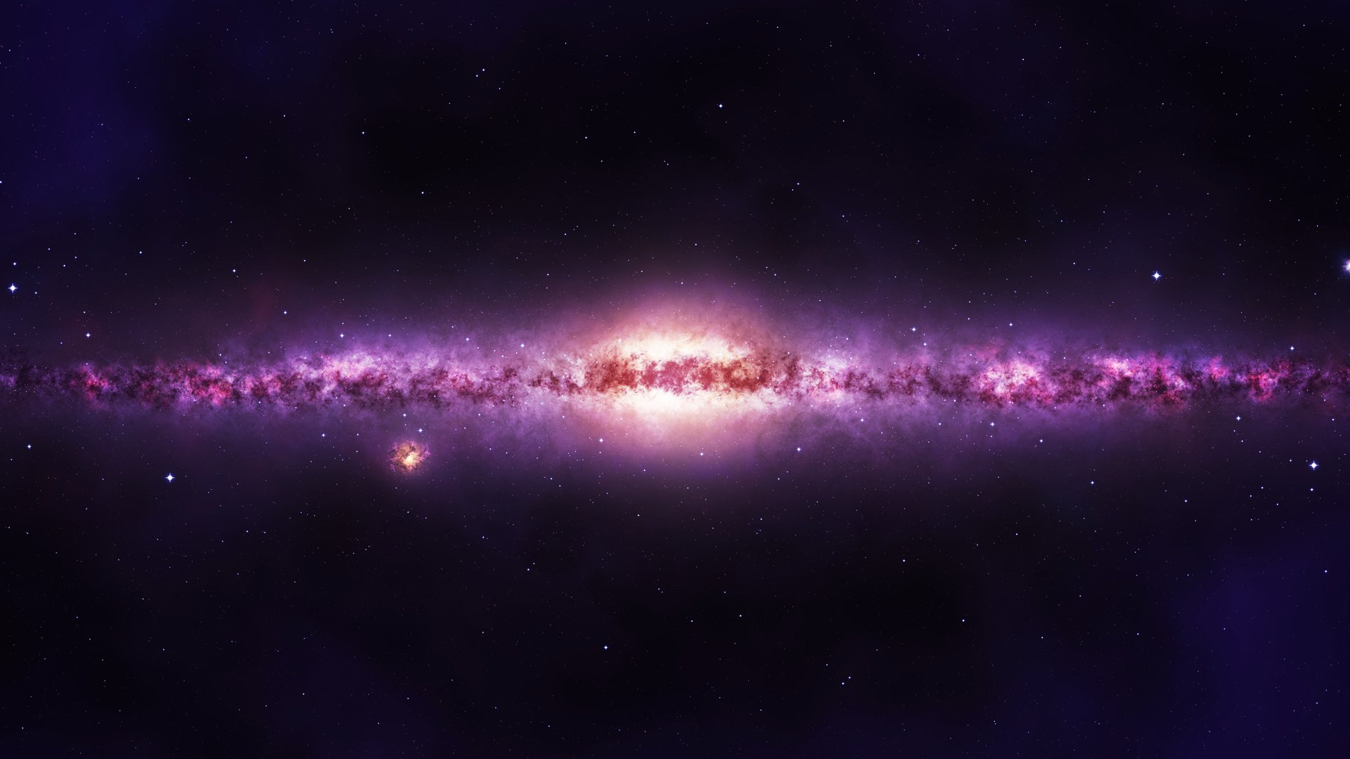 Galaxy wallpapers 1920x1080 Full HD (1080p) desktop ...