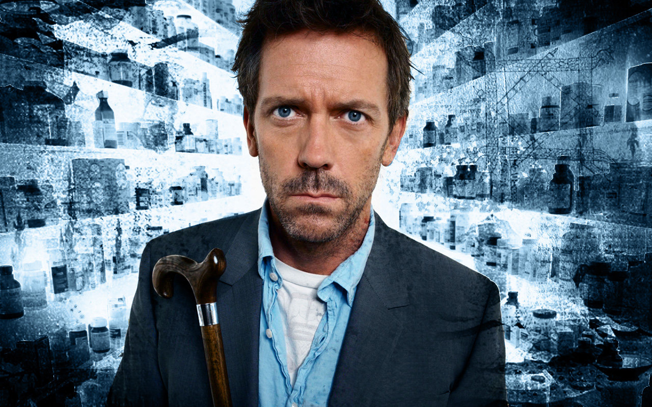 Awesome Dr. House free background ID:156686 for hd 1280x800 computer