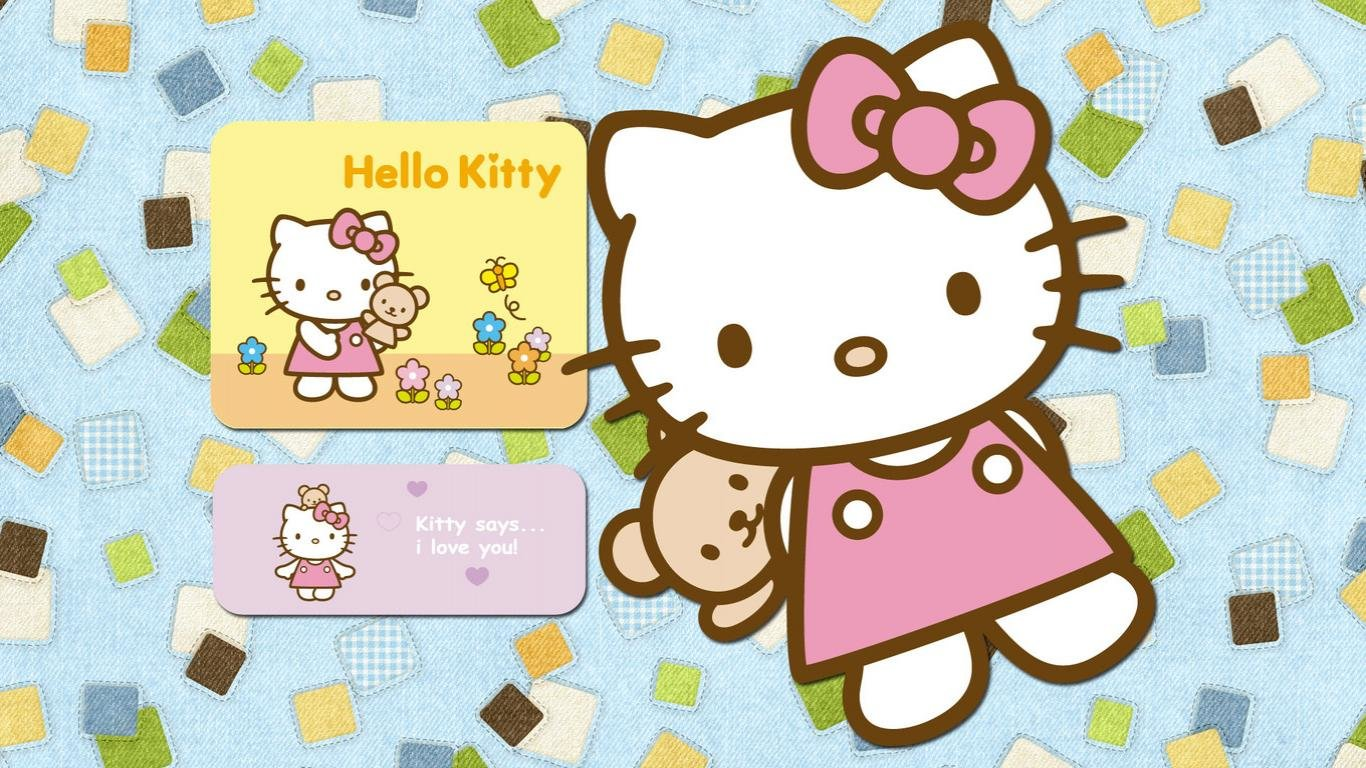 Free download Hello Kitty background ID:93337 laptop for computer