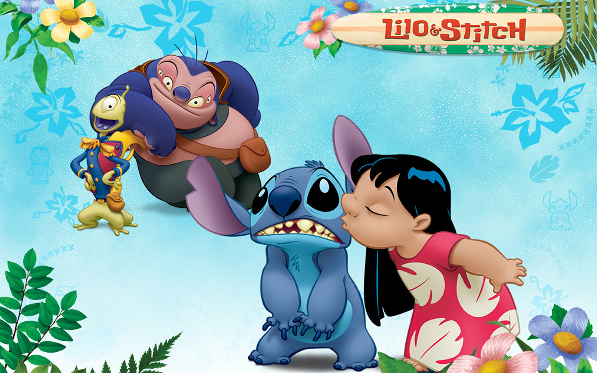 Lilo And Stitch Wallpapers 1920x1200 Desktop Backgrounds