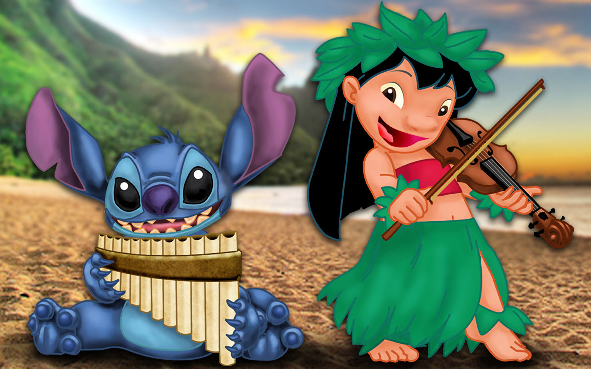 Best Lilo And Stitch Wallpaper ID448905 For High Resolution Hd 1920x1200 PC