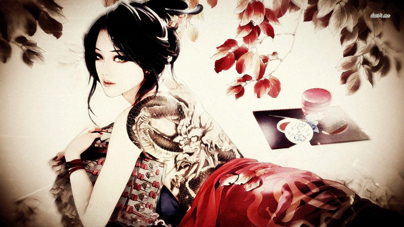 Best Cool Girls Art Background Id 355717 For High Resolution Laptop Desktop