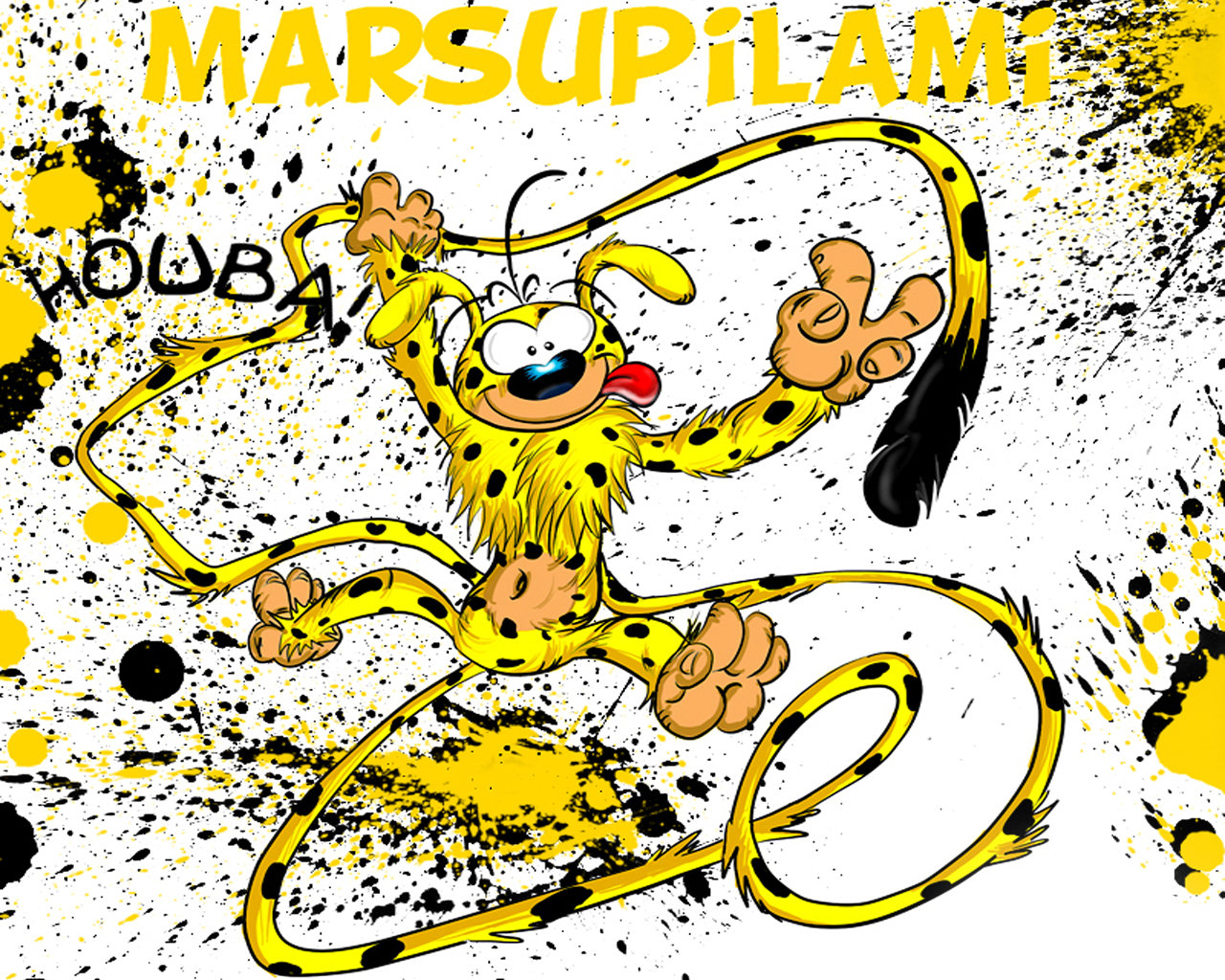 Free Marsupilami high quality background ID:246422 for hd 1280x1024 PC