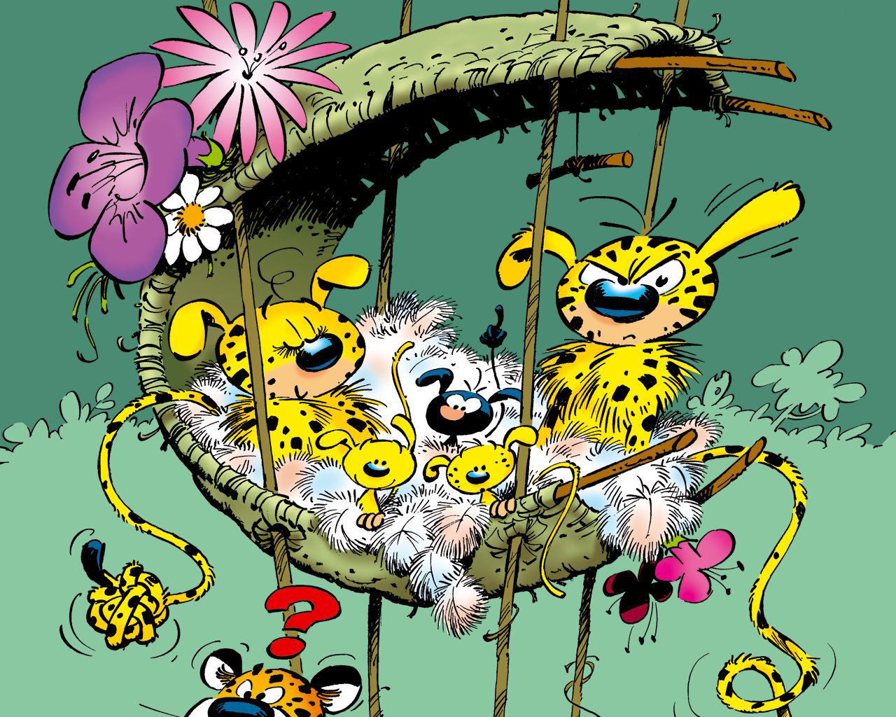High resolution Marsupilami hd 1280x1024 background ID:246423 for desktop