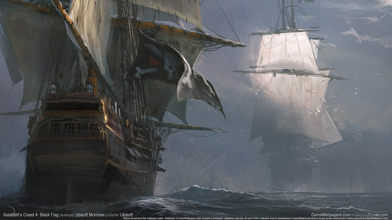 Free download Assassin's Creed 4: Black Flag background ID:234549 1366x768 laptop for desktop