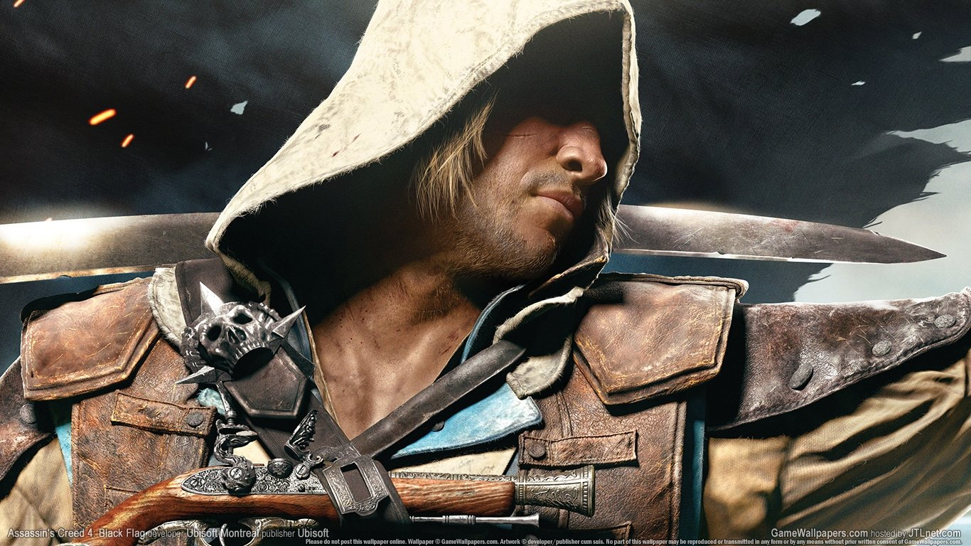 Free Assassin's Creed 4: Black Flag high quality background ID:234594 for 1366x768 laptop desktop