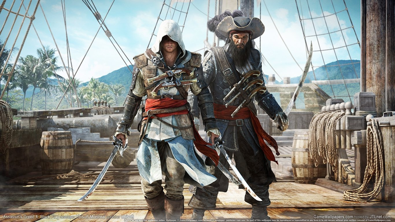 Awesome Assassin S Creed 4 Black Flag Free Wallpaper Id 234573