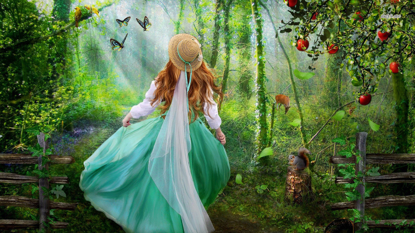Free Fantasy Girl High Quality Wallpaper Id 336229 For Laptop Computer