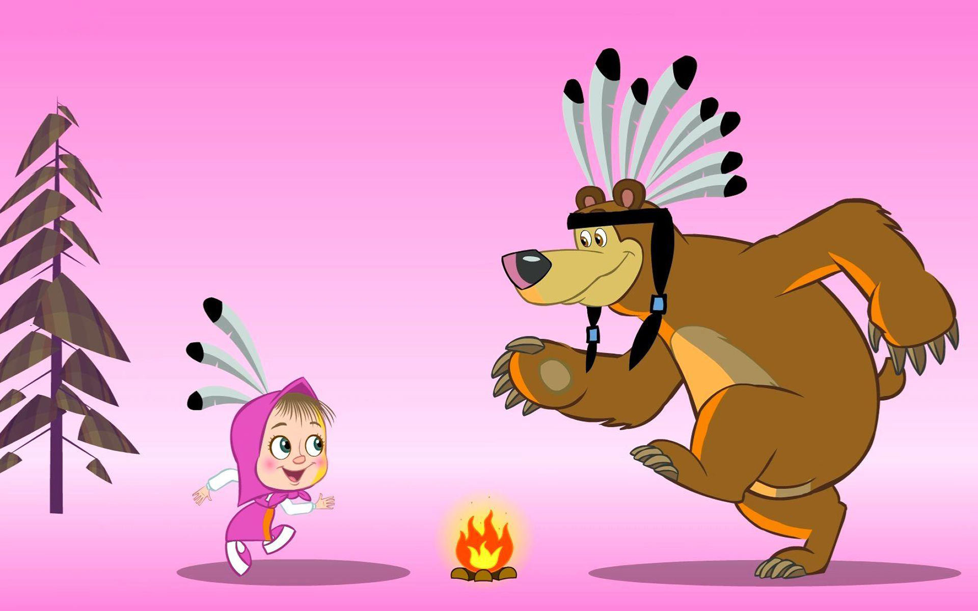 Best Masha And The Bear Wallpaper Id84160 For High