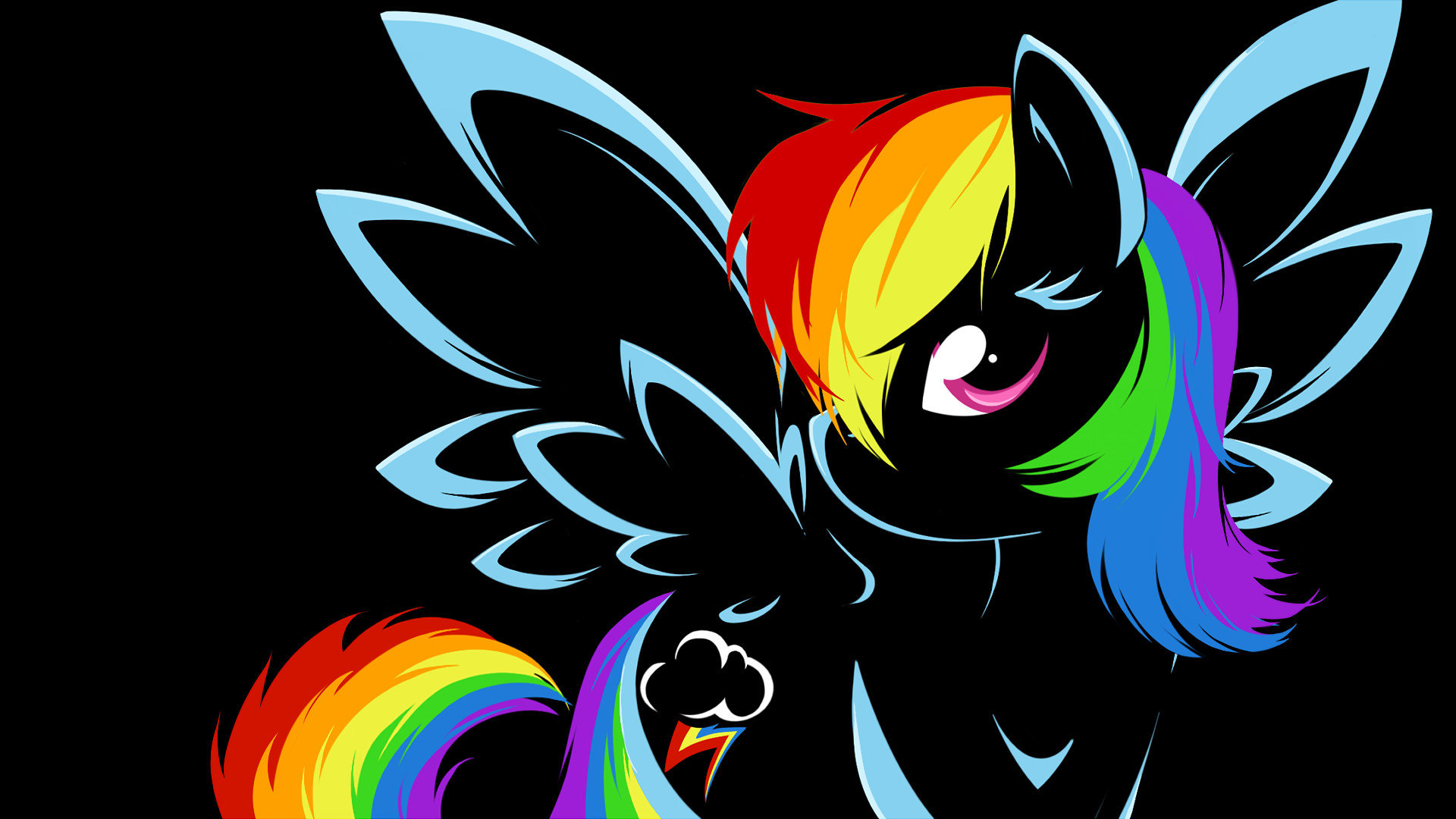 Free download Rainbow Dash wallpaper ID:154057 full hd for computer
