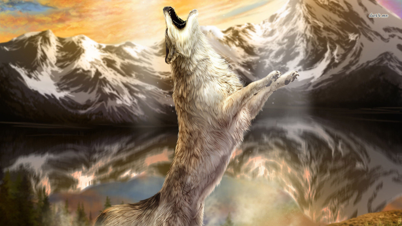 Free Wolf high quality wallpaper ID:117999 for hd 1366x768 PC