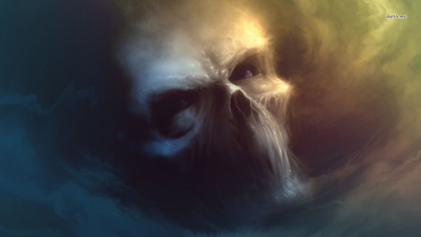 High resolution Skull 1366x768 laptop background ID:320532 for desktop