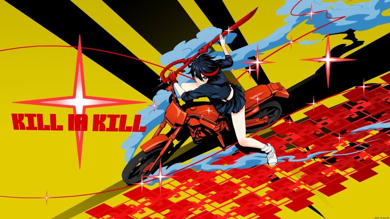 Best Kill La Kill background ID:118879 for High Resolution 1366x768 laptop computer