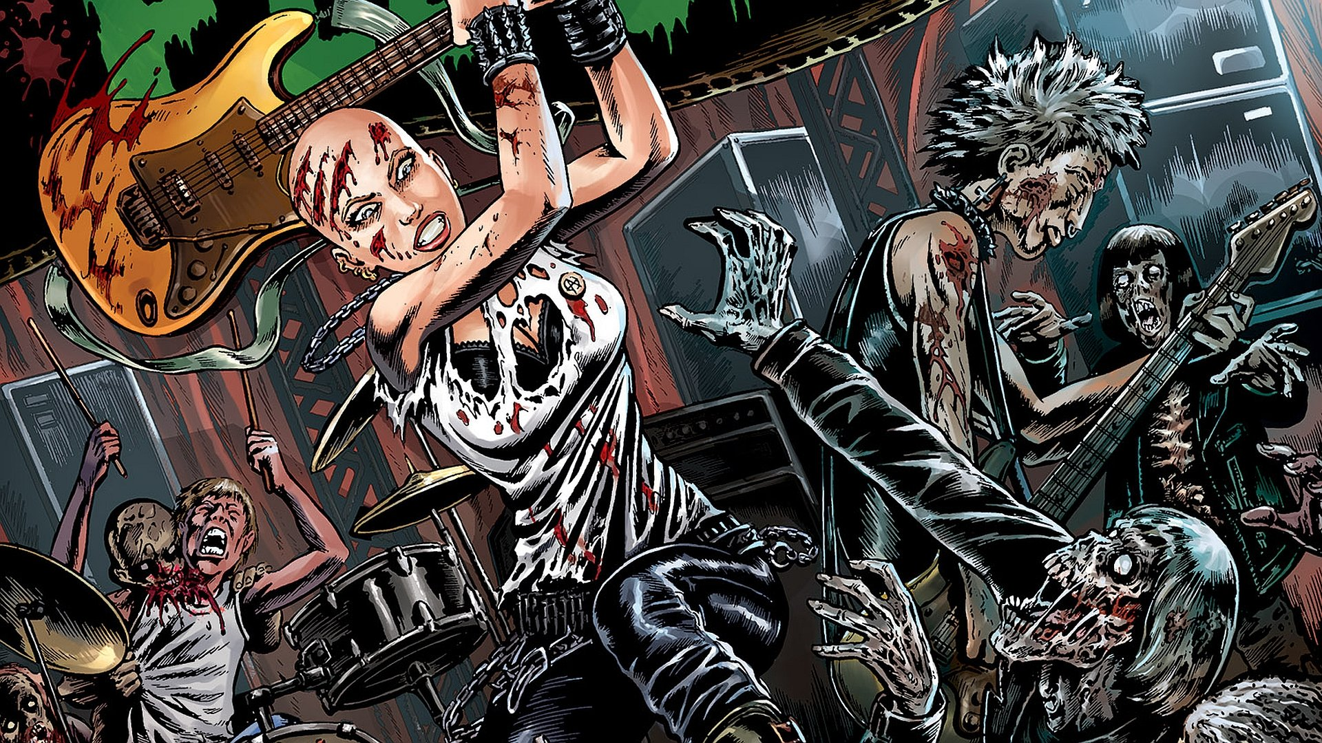Awesome Night Of The Living Dead Free Wallpaper Id387444