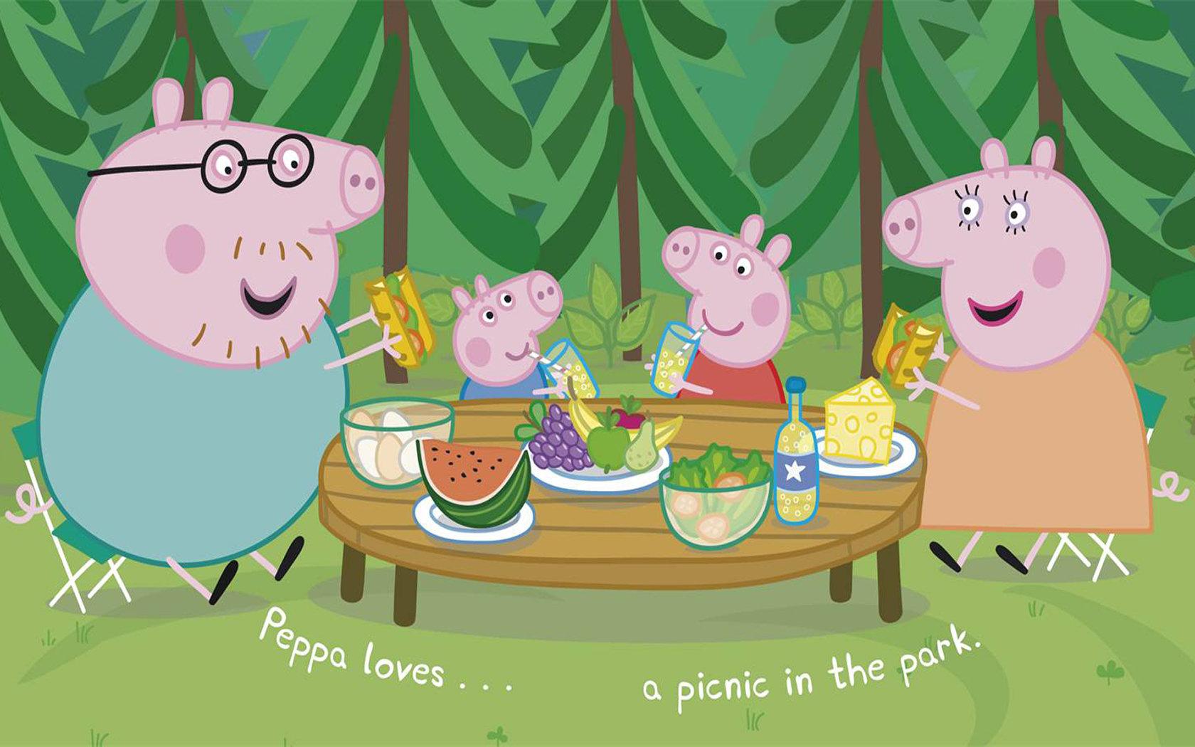 Free download Peppa Pig wallpaper ID:315219 hd 1680x1050 for desktop