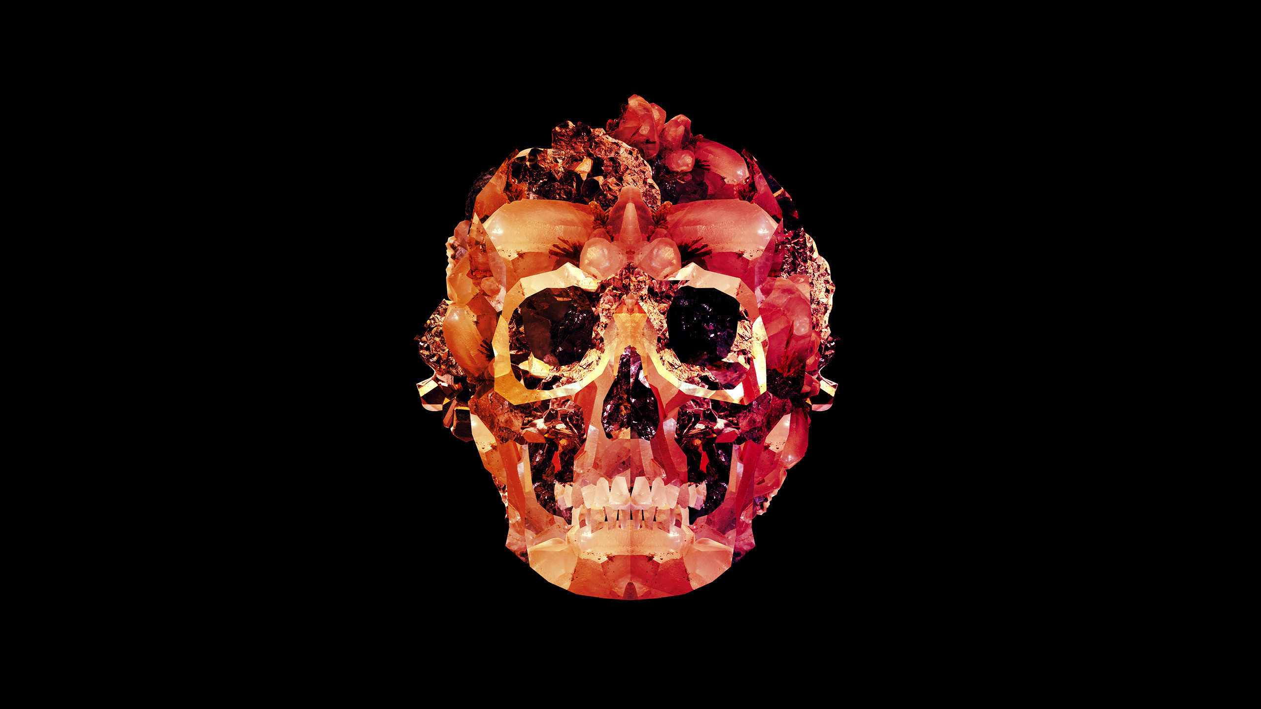 High resolution Skull hd 2560x1440 background ID:320915 for PC
