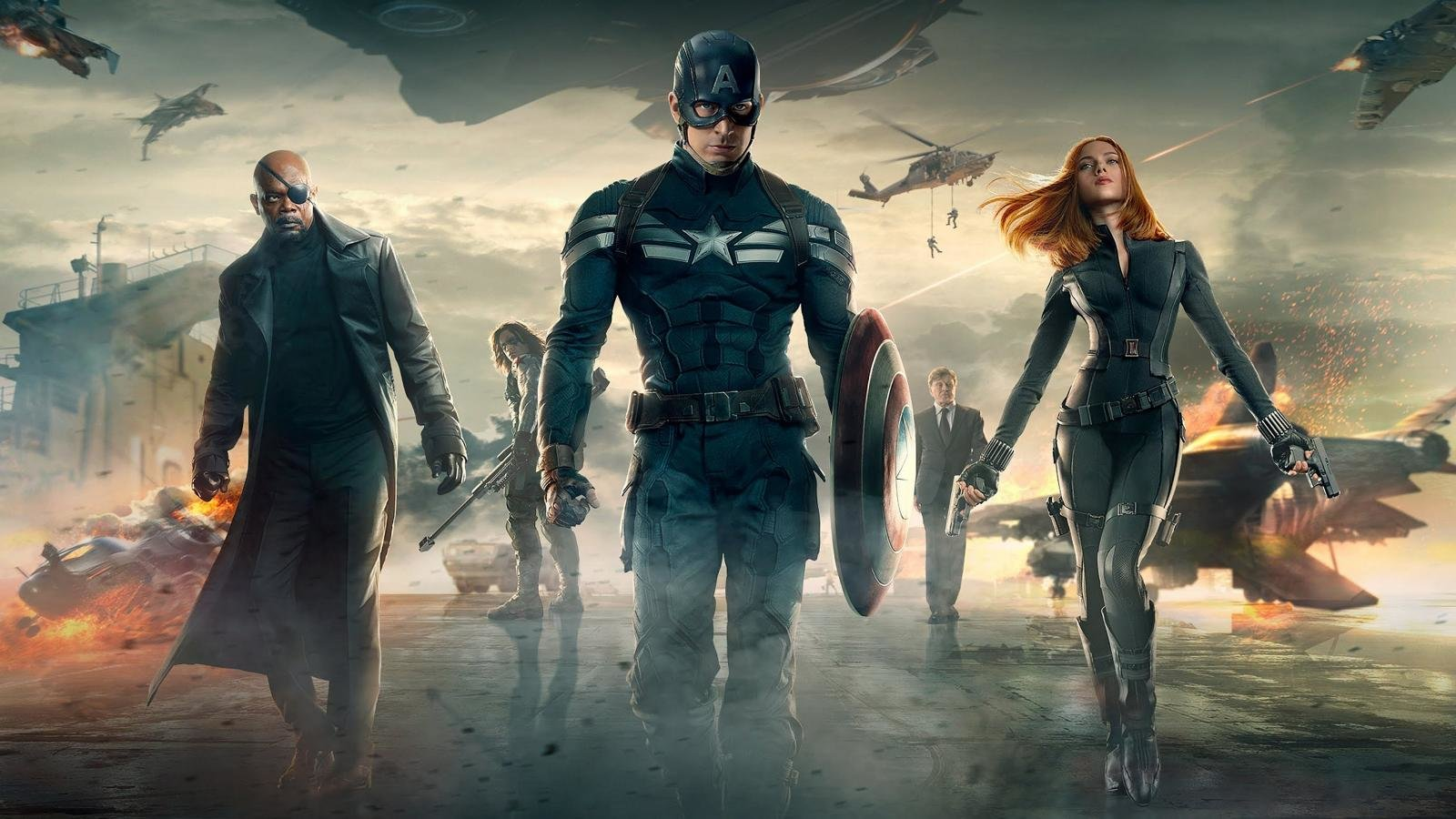 Free download Captain America: The Winter Soldier background ID:191441 hd 1600x900 for PC