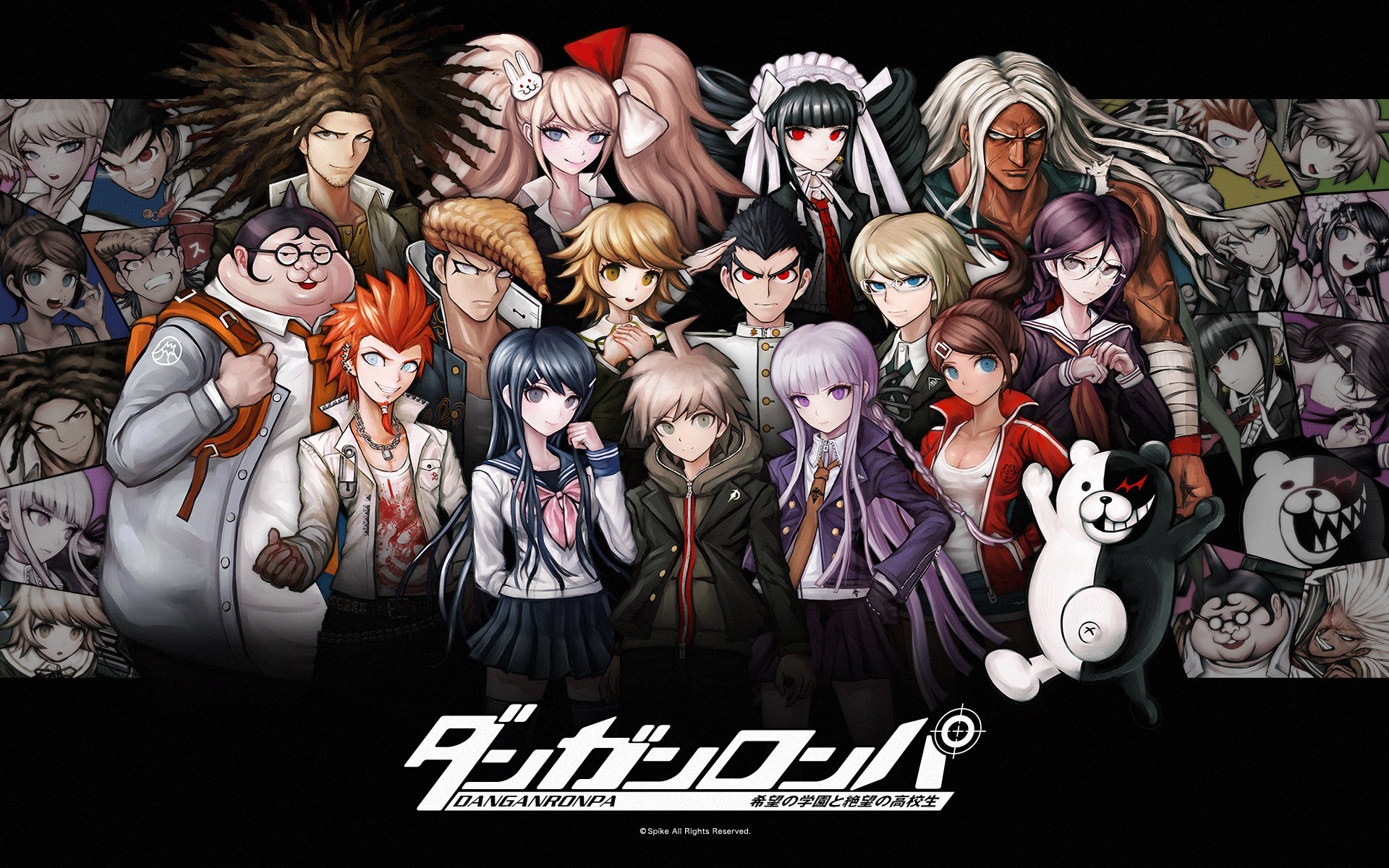 Awesome Danganronpa free wallpaper ID:133052 for hd 1920x1200 computer