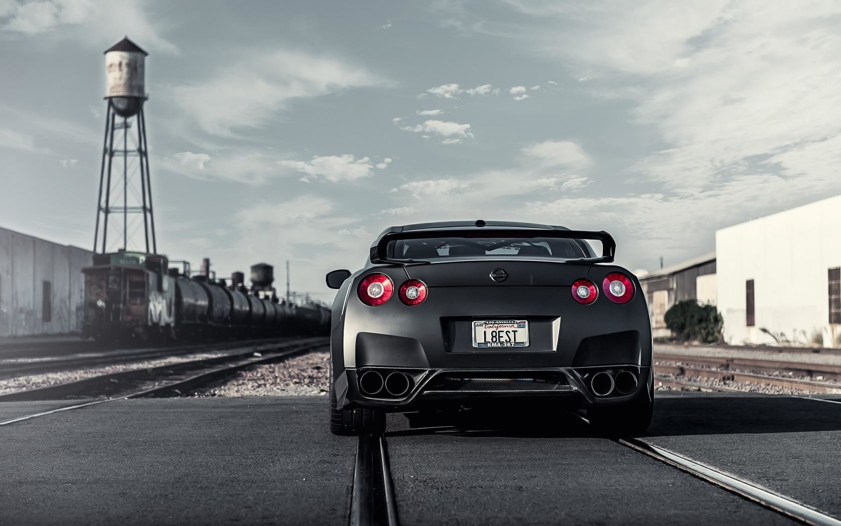 Awesome Nissan GT-R free background ID:438607 for hd 1680x1050 PC
