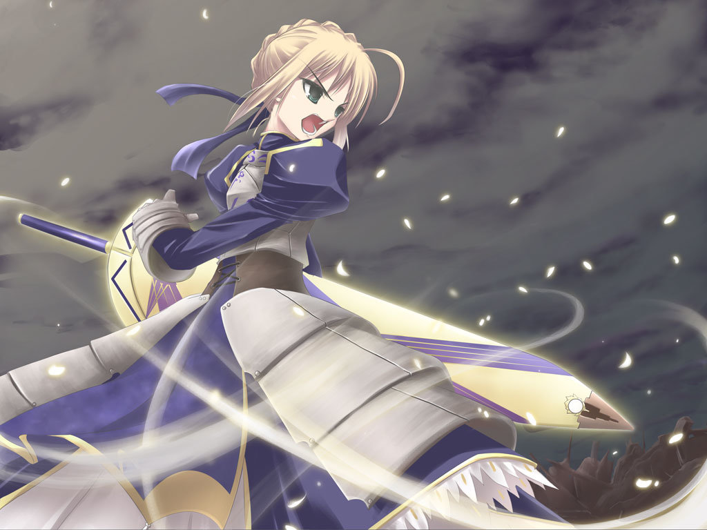 Download hd 1024x768 Saber (Fate Series) PC background ID:469069 for free