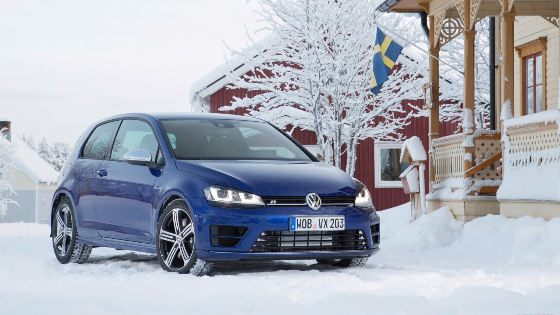 Free Download Volkswagen Golf R Wallpaper Id383557 Hd 1920x1080 For
