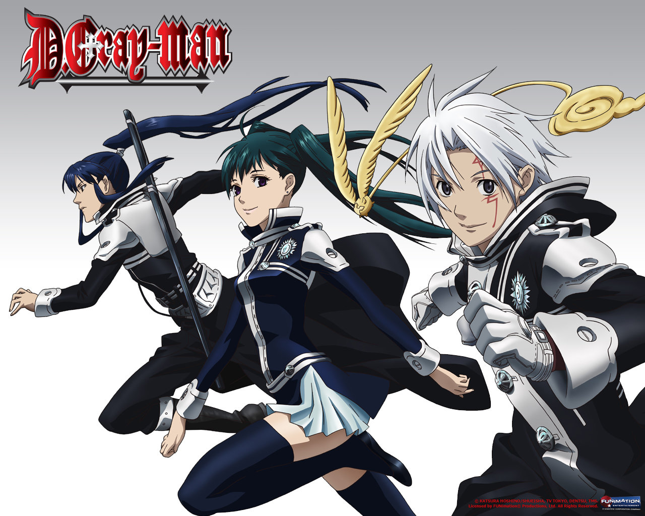 Download hd 1280x1024 D.Gray-man computer wallpaper ID:26911 for free